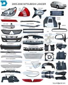 Mitsubishi Lancer 2008 Parts 2007 2015 Mitsubishi Lancer Headlight Taill Bumper Fog