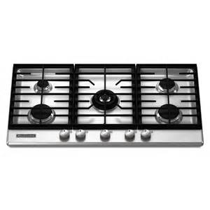 five cooktop kitchenaid kfgs366vss architect ii 5 burner gas cooktop