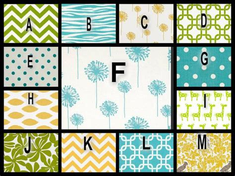 Green And Yellow Crib Bedding You Design Blue Yellow And Green Custom Crib Bedding With Designer F