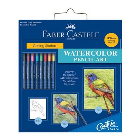 Finger Print Book Faber Castell faber castell getting started watercolor pencil set pencils