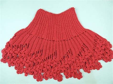 cuello bufanda en crochet paso a paso funnycat tv cuello con capa triangular dos agujas funnycat tv