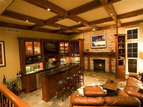 Having Fun In The Basement With These Basement Bar Ideas   having fun in the basement with these basement bar ideas