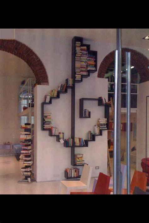 treble clef bookshelf theme room ideas