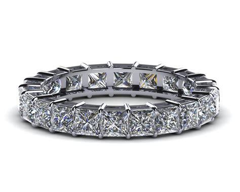 princess cut eternity band 1 52 carats t d w