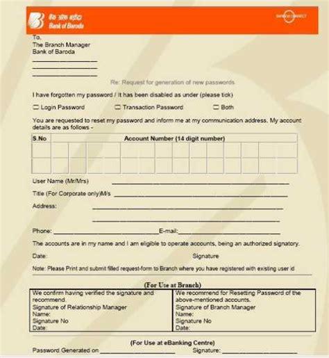 Credit Card Form Bank Of Baroda Bank Of Baroda Net Banking Application Form Can Free On Forum Geelongfridgerepairs Au
