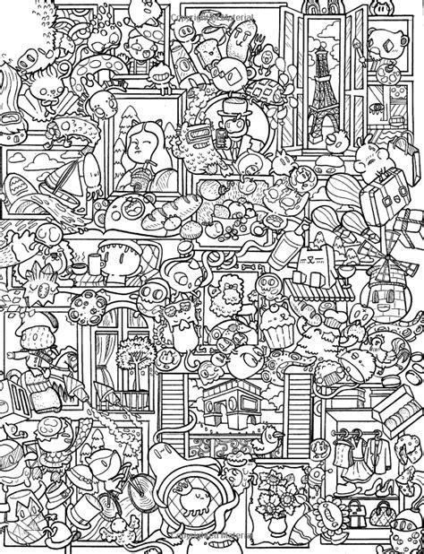 libro doodle mania zifflins coloring amazon com doodle caos libro de colorear zifflin volumen 3 9781523834778 zifflin irvin