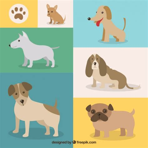 variety of breeds variety of breeds vector free
