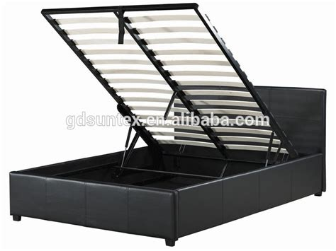 Ottoman Bed Mechanism Fabric Upholstered Storage Bed Gas Lift Mechanism Ottoman Bed Buy Ottoman Bed Product On