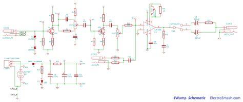 circuit diagrams 1w open hardware 1 watt guitar lifier open