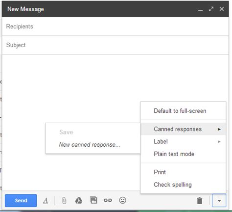 how to set up and use email templates in gmail kick errors