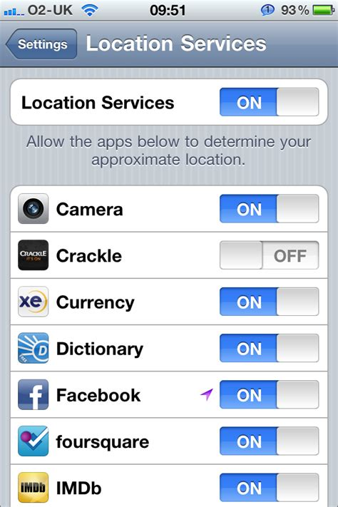 daily tip how to turn locations services for iphone