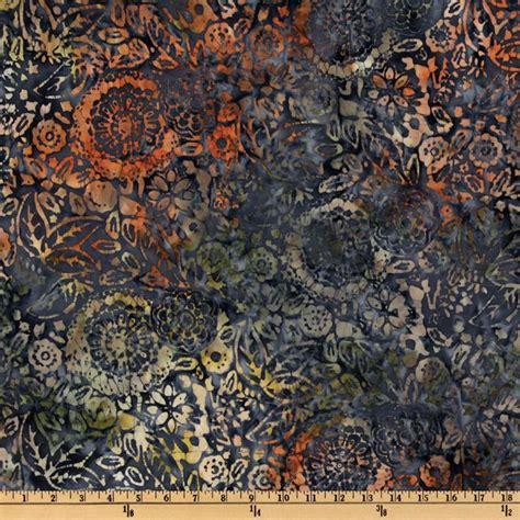 Batik Quilt Backing by 108 Wide Tonga Batik Quilt Backing Floral Blueberry