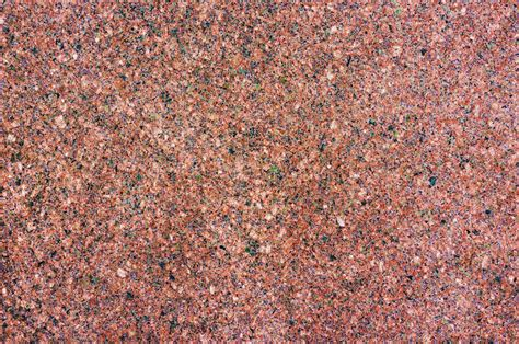 Green by Orange Granite Flat Stone Texture