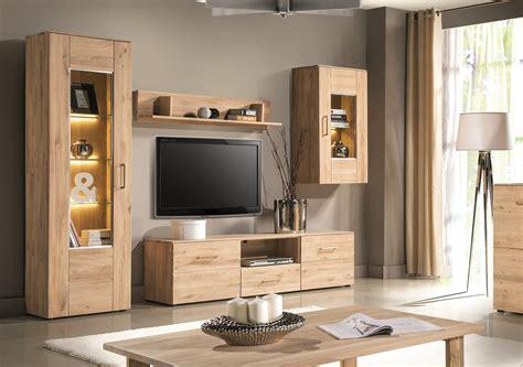 wohnzimmerwand echtholz wohnwand echtholz g 252 nstig rheumri