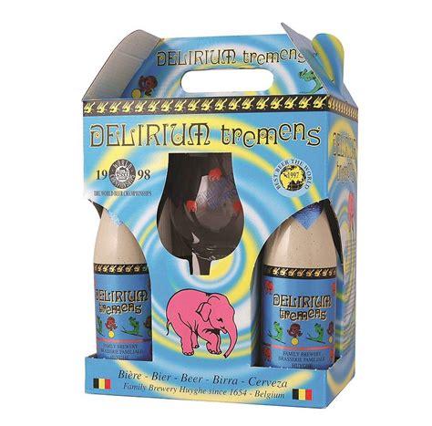 delirium tremens belgian beer gift by beer hawk