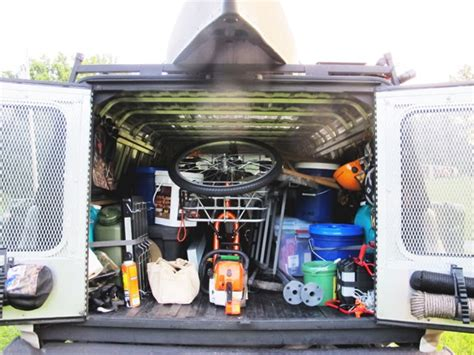 survival truck interior bug out vehicle bov chronicles the post series