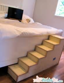 dog bed steps pet stairs on pinterest