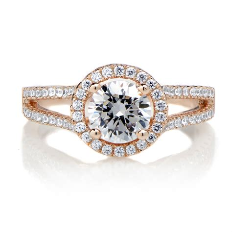 rose gold rose gold rings rose gold rings with cz