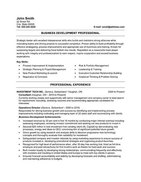 Business Services Manager Sle Resume by 59 Best Images About Best Sales Resume Templates Sles On