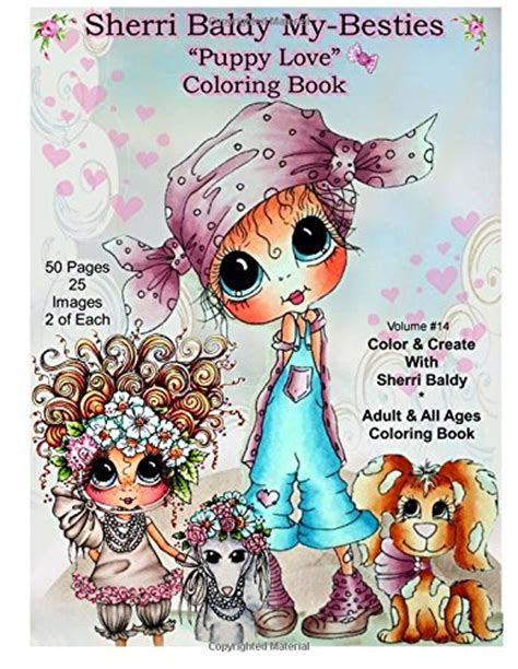 sherri baldy my besties magical winter coloring book books sherri baldy my besties puppy coloring book