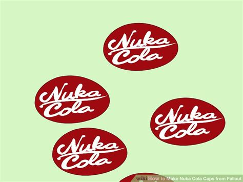 nuka cola bottle cap template image collections