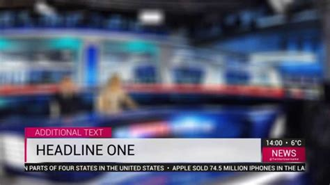templates after effects news news tv graphics full hd free adobe after effect