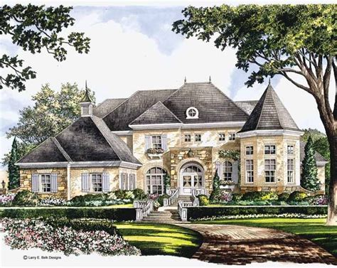eplans mansions eplans chateau house plan majestic bay 5134 square