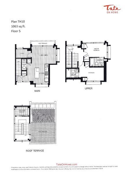 tate residences floor plan new vancouver condos for sale presale lower mainland