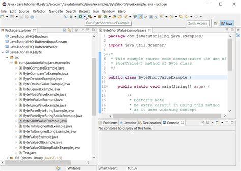 pattern output java java byte shortvalue method exle