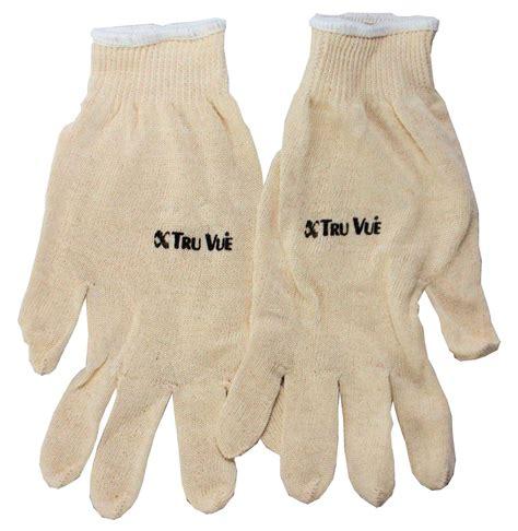 Supplies Gloves Intl tru vue 174 cotton gloves tru vue inc