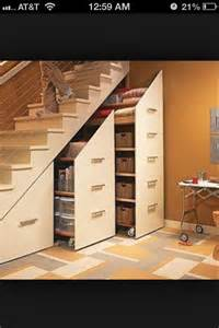 basement storage idea organization