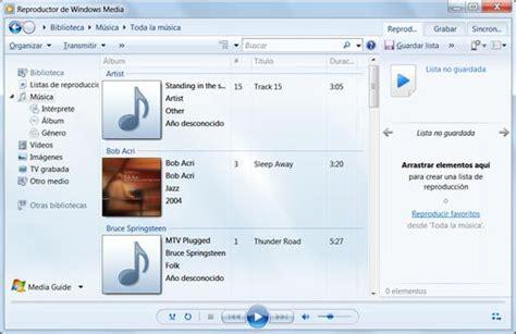 reproductor de imagenes windows 10 usar el reproductor de windows media player