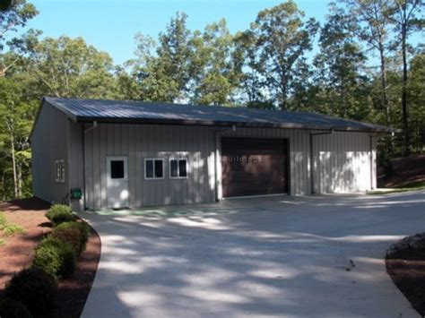 backyard garage designs backyard metal garage in gainesville ga customer
