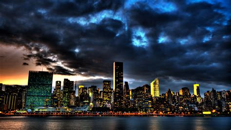 New York City Skyline 1080p Wallpaper City HD Wallpapers