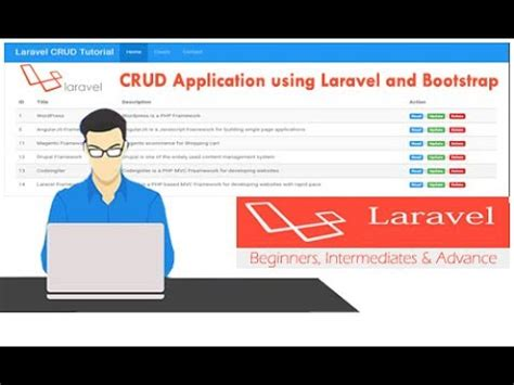tutorial crud laravel 5 how to make laravel 5 4 crud tutorial using bootstrap