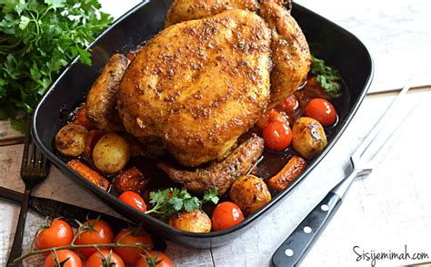 roasted whole chicken oven roasted whole chicken recipe sisi jemimah