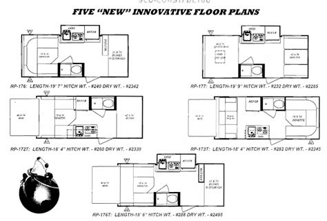 rpod floor plans 5 new r pod floorplans r pod owners forum