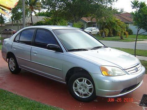 buy used honda civic 2002 lx sedan 4 door 1 7l extremely