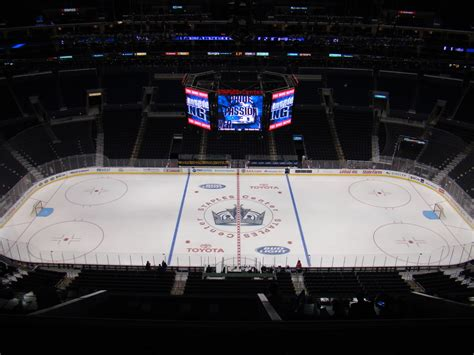 staples center section  seat views la kings game
