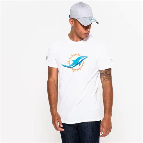 T Shirt Miami Dolphins Logo miami dolphins team logo white new era