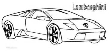 Coloring Pages Of Lamborghini Printable Lamborghini Coloring Pages For Cool2bkids