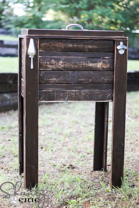 woodworking plans cooler  woodworking