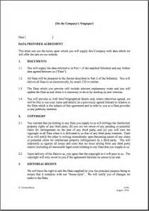 Master Supply Agreement Template Royalty Agreement Template Best Letter Examples