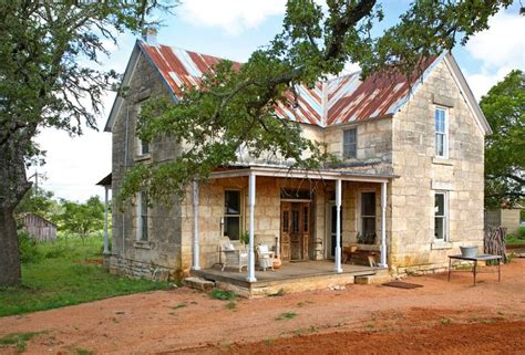 texas hill country homes a must see renovation of a 19th century stone house in