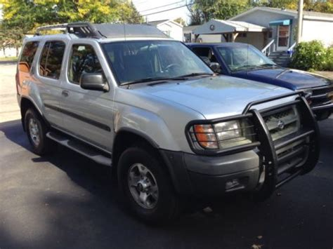 2001 nissan xterra se purchase used 2001 nissan xterra se sport utility 4 door 3 3l no reserve in schenectady