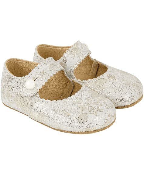 baby occasion shoes early days baby ivory and gold leather shoes