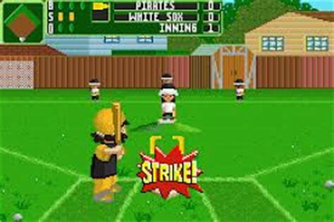 Backyard Baseball 2007 by Backyard Sports Baseball 2007 Gbafun Is A Website Let
