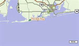where is perdido key florida on the map perdido key maps la vista condos
