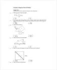 sample pythagorean theorem worksheet 9 free documents