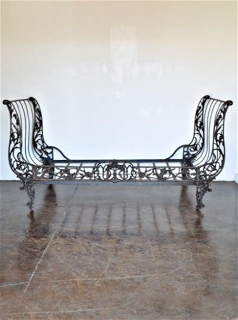iron sleigh bed antique french cast iron sleigh bed for the home pinterest
